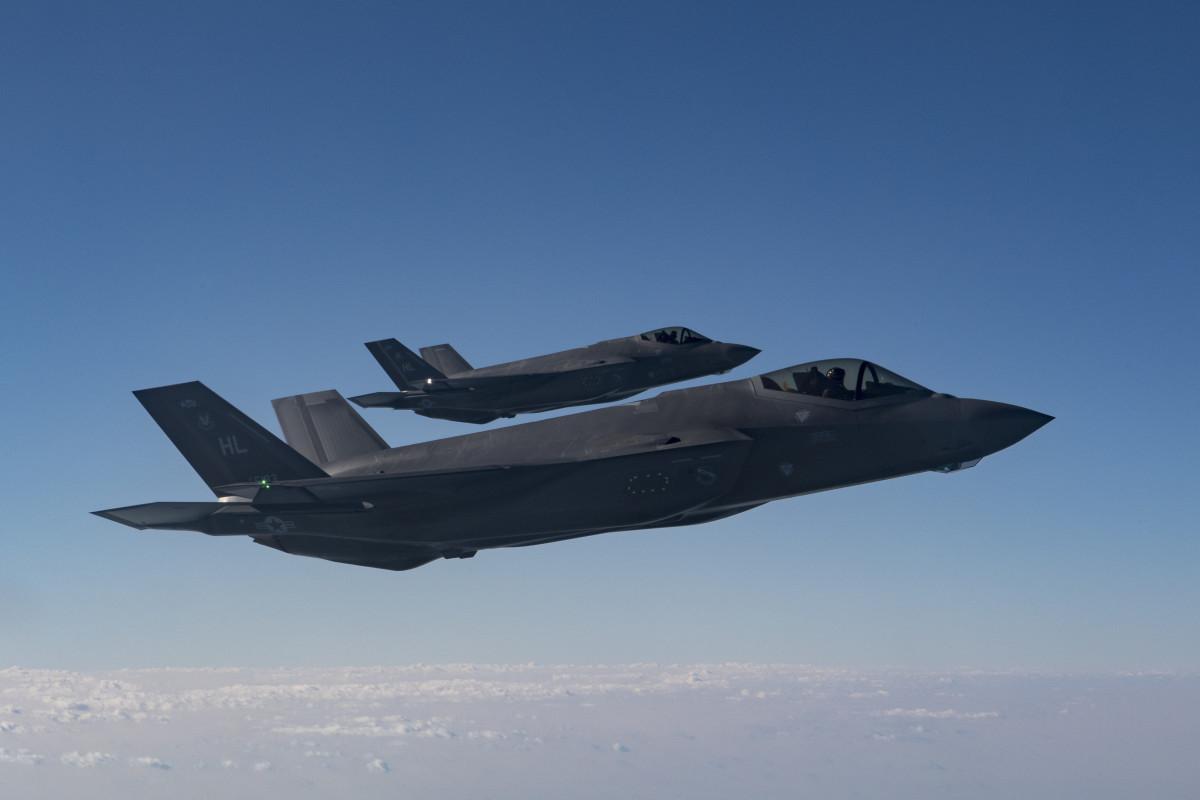 U.S. Air Force F-35 Lightning IIs
