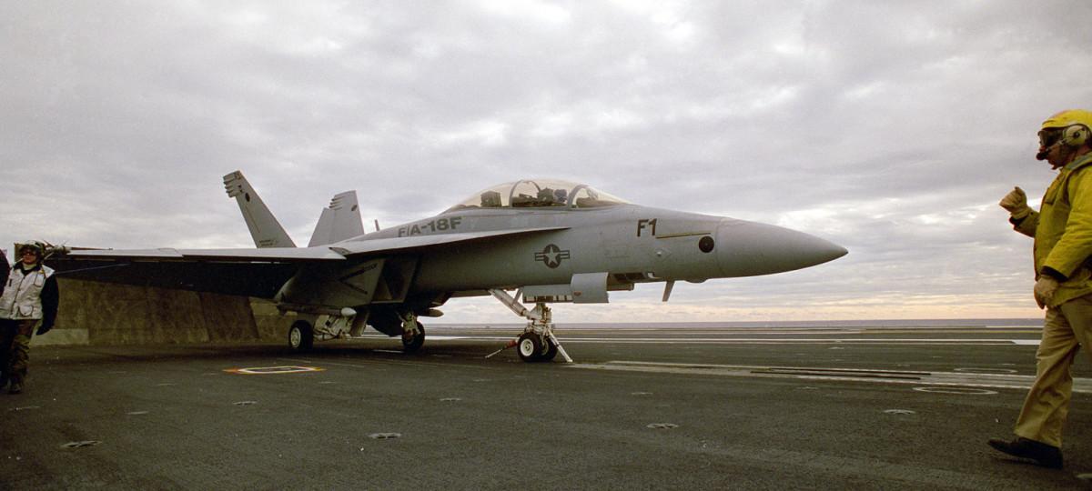 U.S. Navy F/A-18 Super Hornet