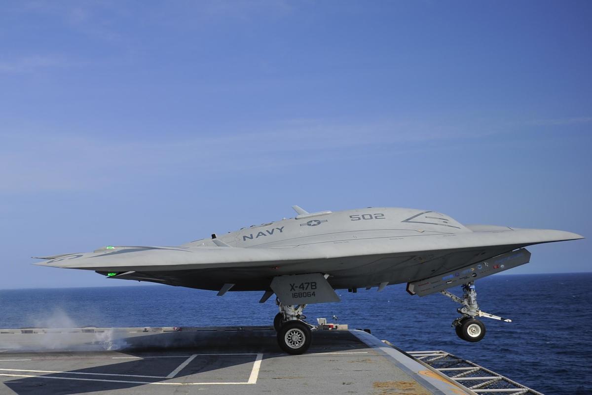 U.S. Navy X-47B Drone