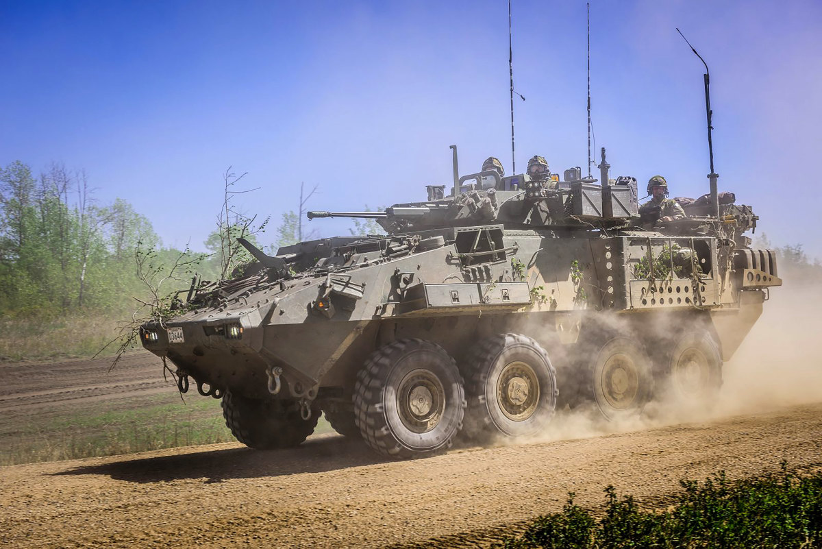 Abrams Light Armored Vehicle (LAV)