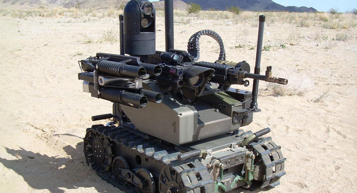 U.S. Military MAARS UGV
