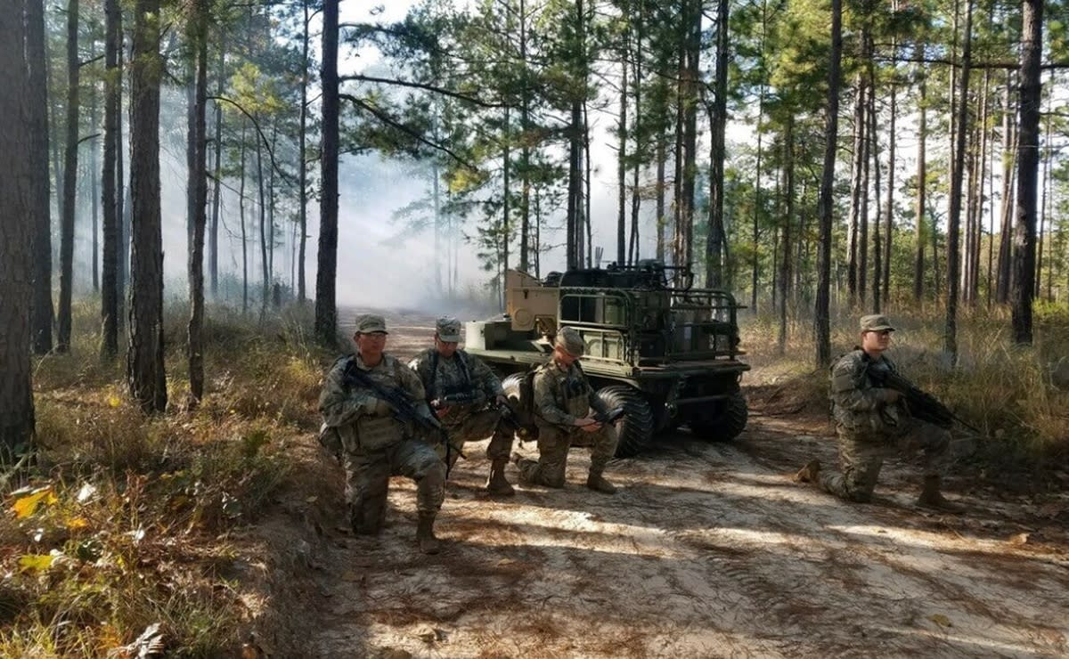 U.S. Army Robotic Combat Vehicle