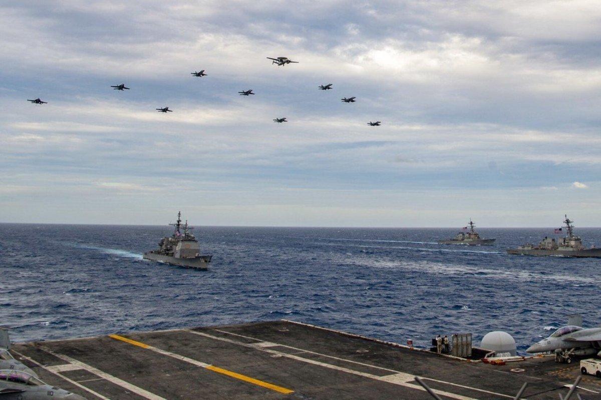 USS Theodore Roosevelt USS Nimitz