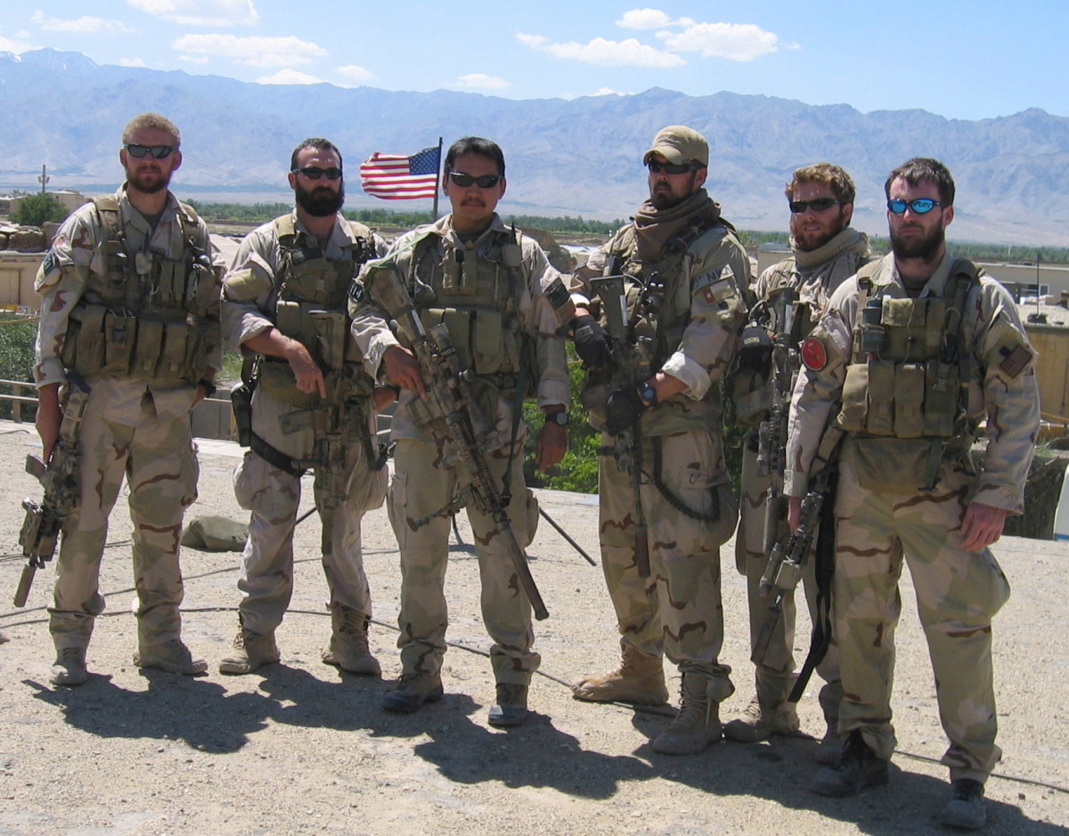 U.S. Navy SEALs Marcus Luttrell