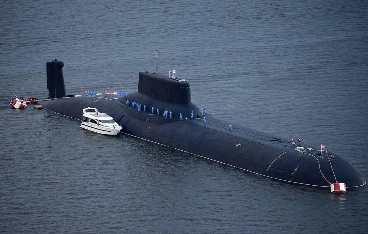 Dmitry Donskoi Nuclear Powered Submarine