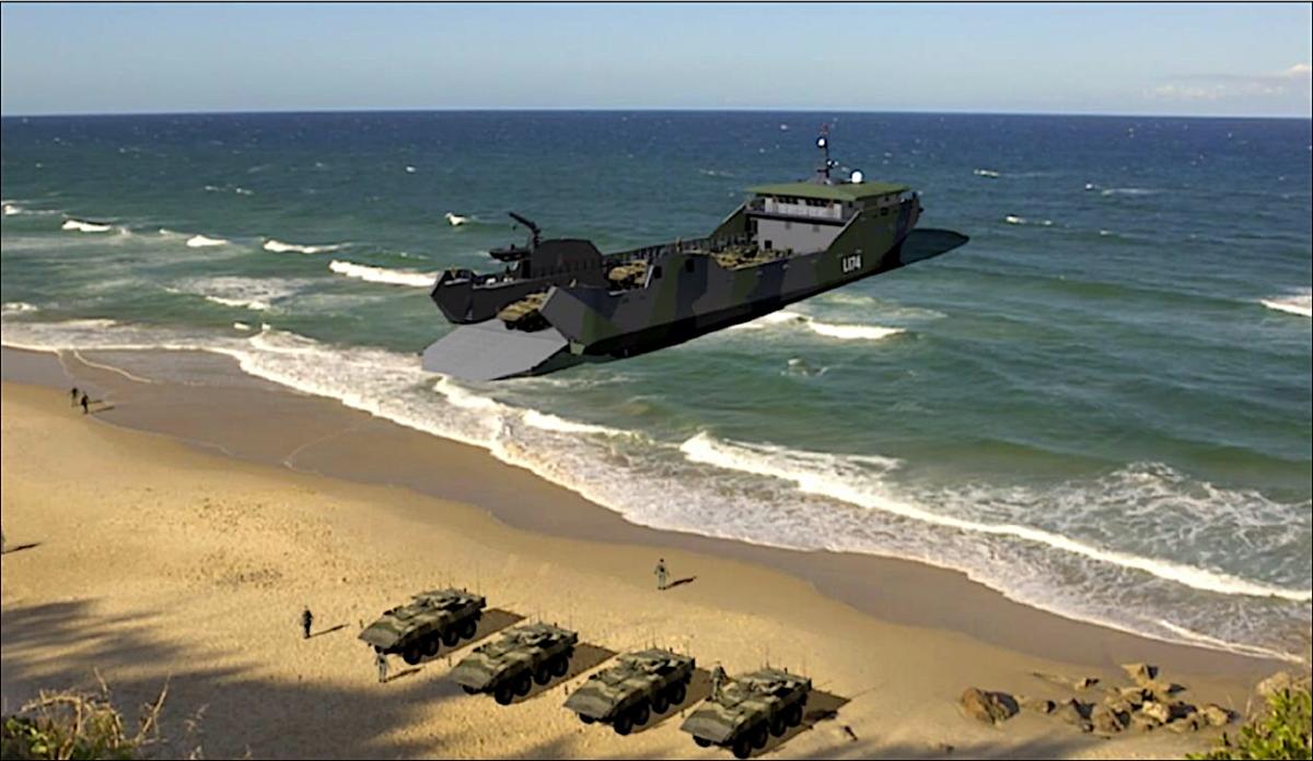 U.S. Navy Light Amphibious Warship