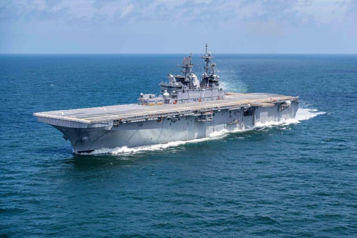 U.S. Navy LHA-7