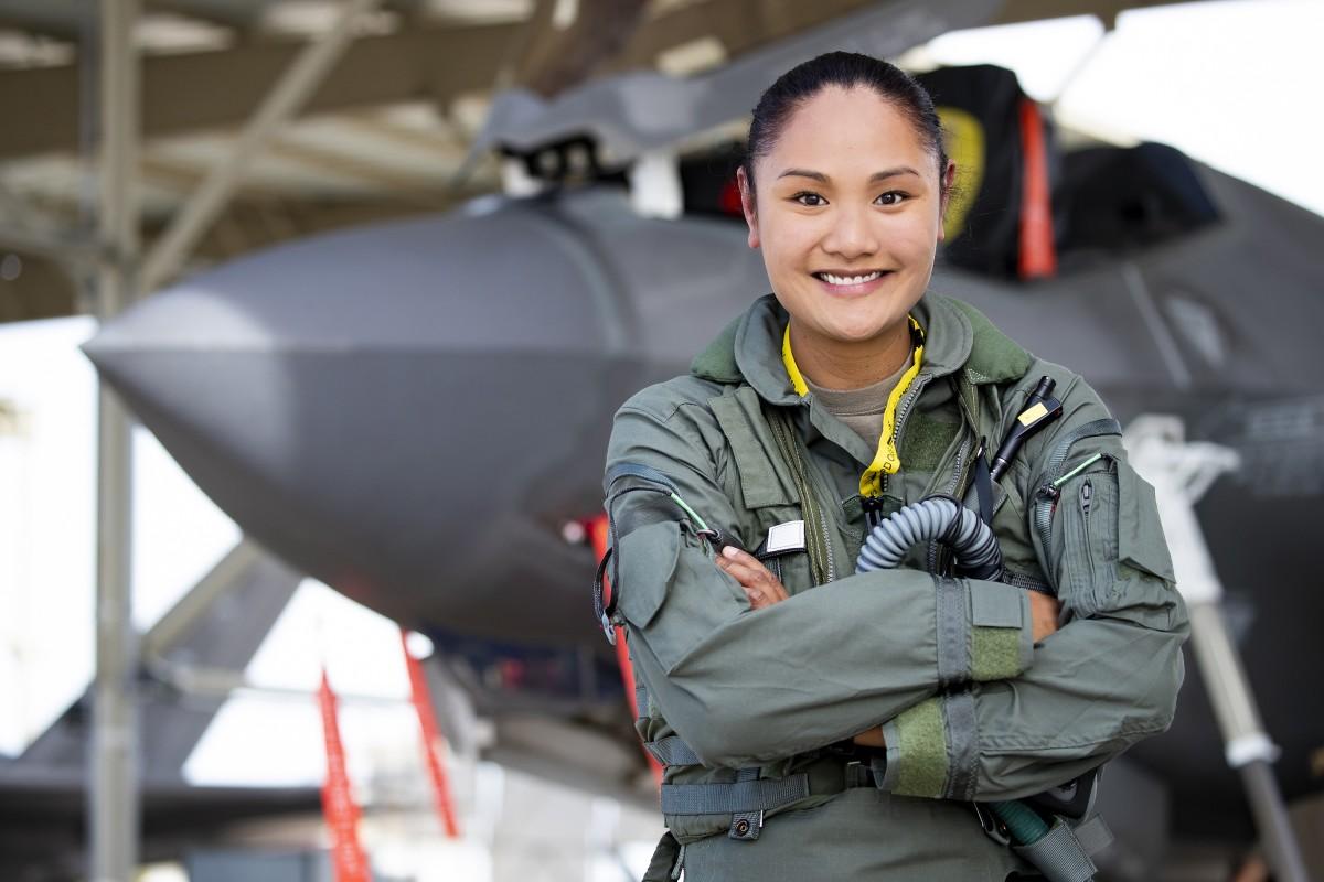 Monessa (Siren) Balzhiser, F-35A