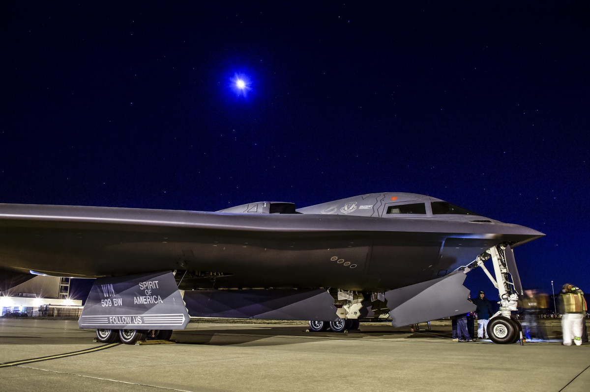 U.S. Air Force B-2 Spirit Bomber