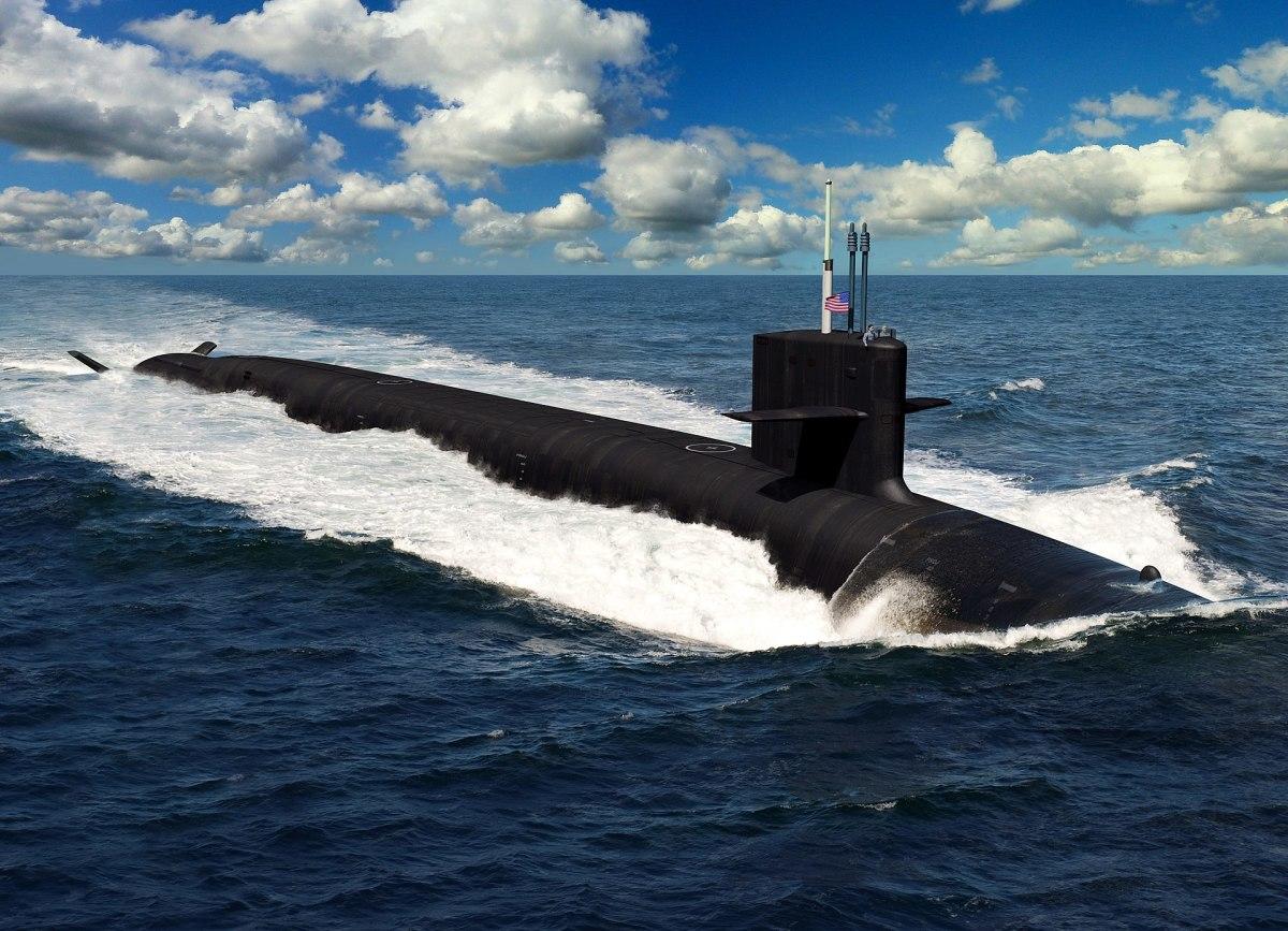 U.S. Navy Columbia-class Ballistic Missile Submarine