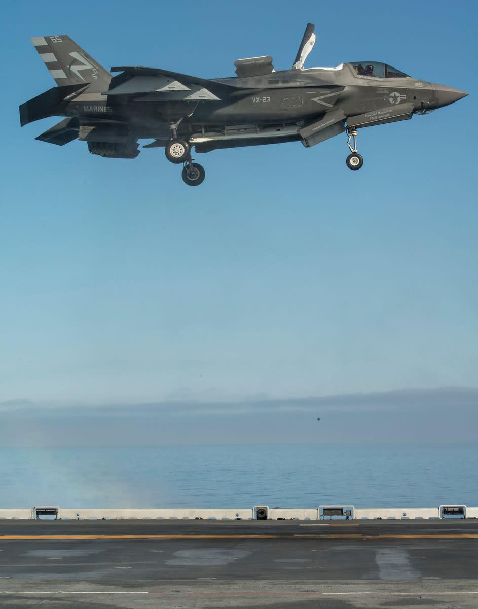 U.S. F-35B STOVL