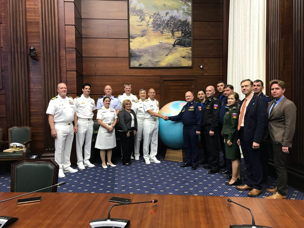 U.S. and Russian Navies