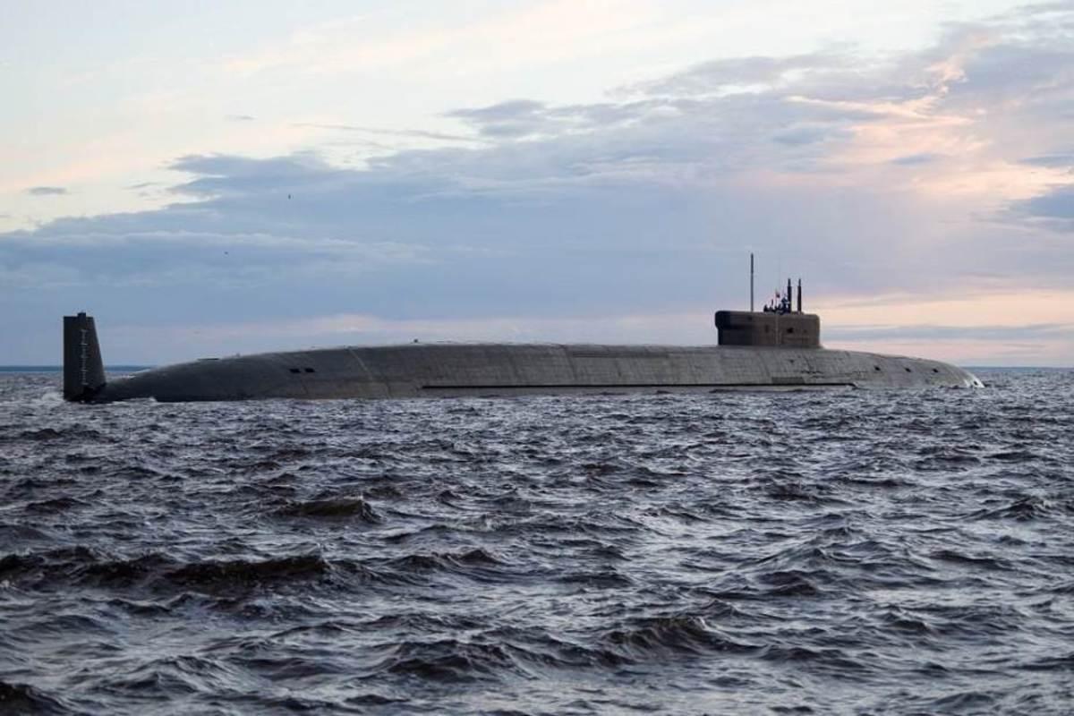 Russia Navy 955A Borei-A class Submarine