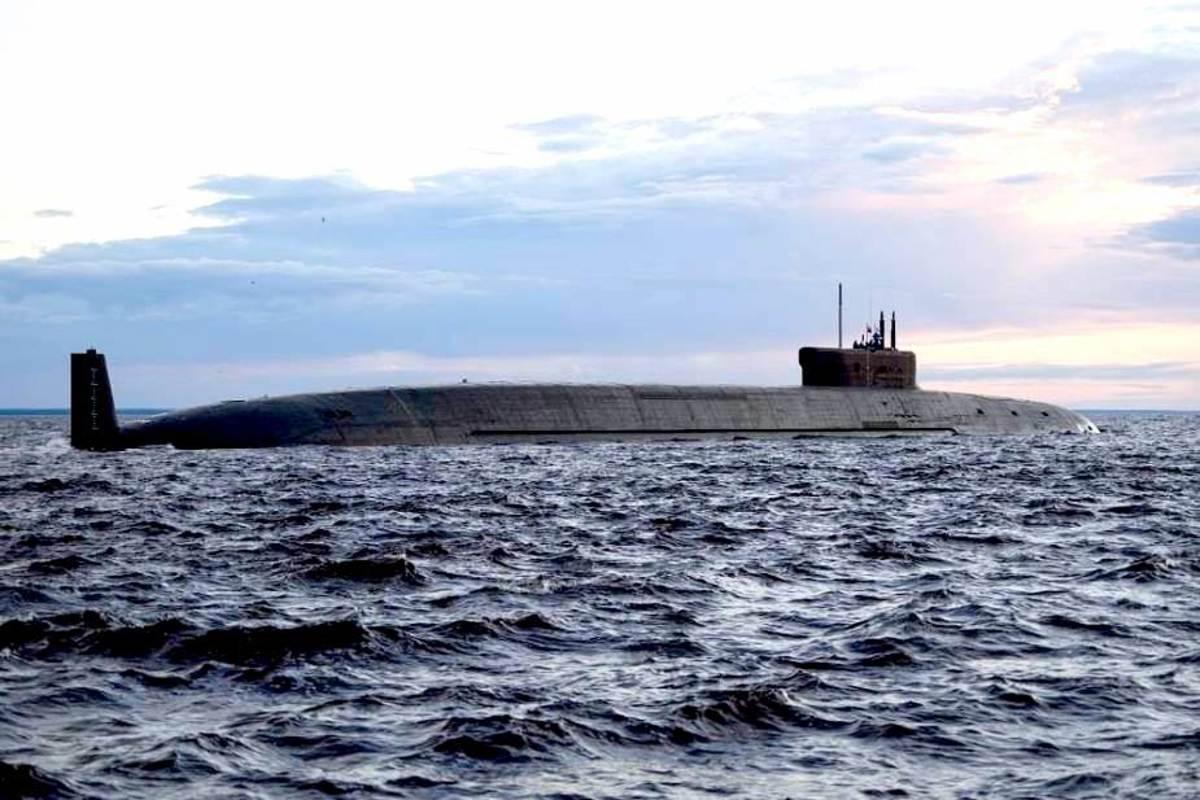 Knyaz Oleg Project 955A Borei-A class nuclear-powered ballistic missile submarine