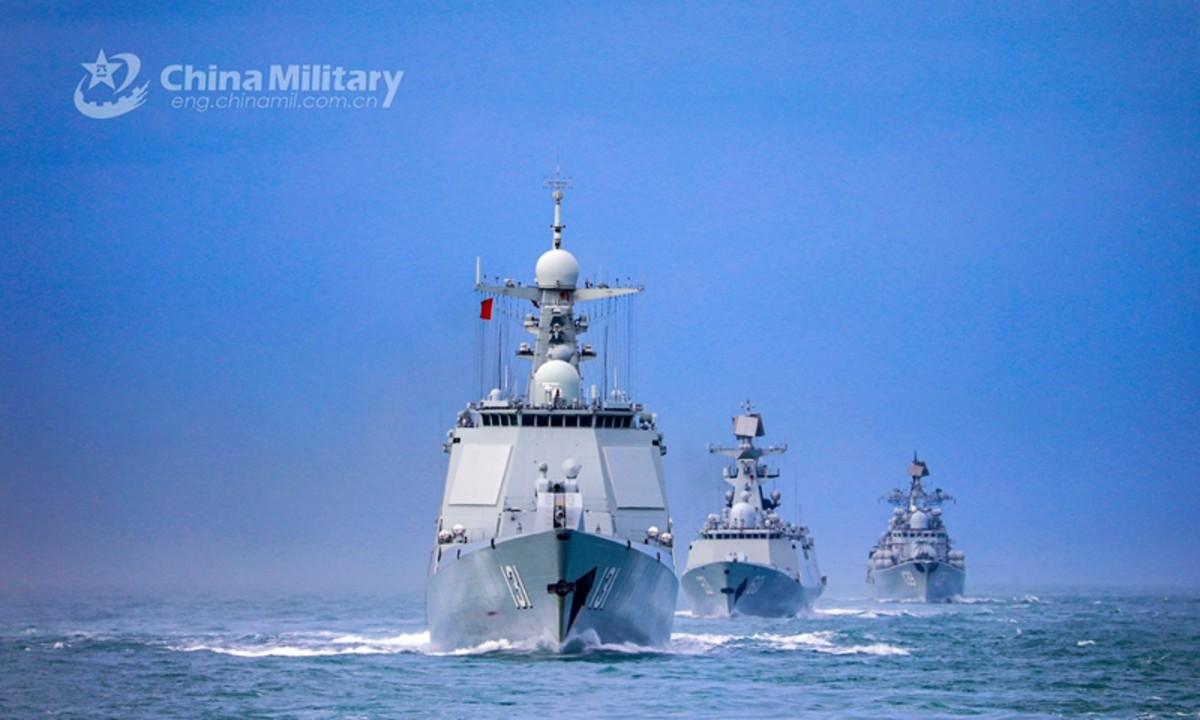 China Naval Fleet