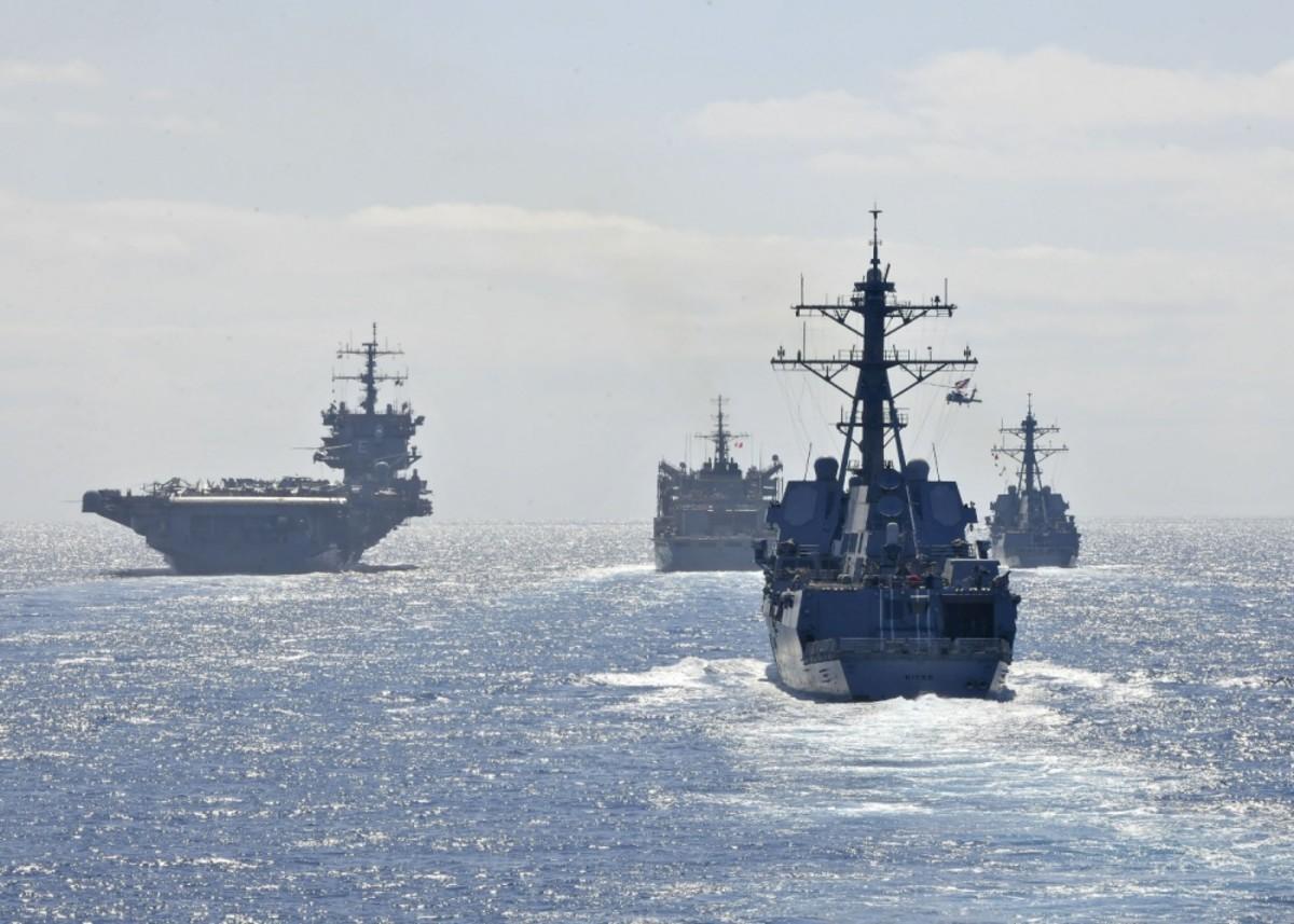 USS Enterprise Carrier Strike Group