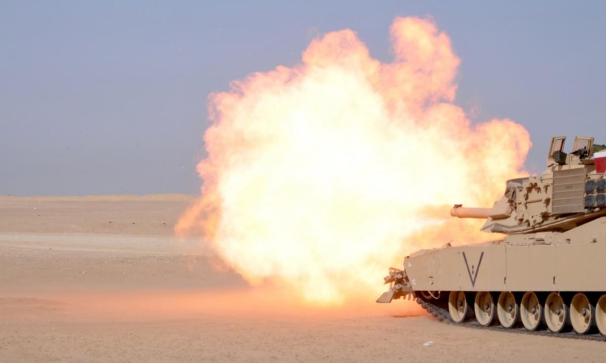 U.S. Army M1A2 Abrams Tank