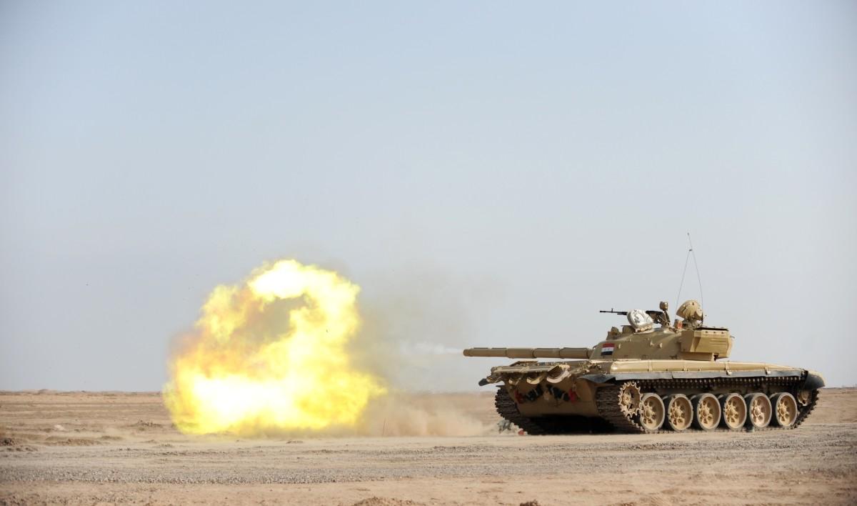 Iraqi T-72 Tank