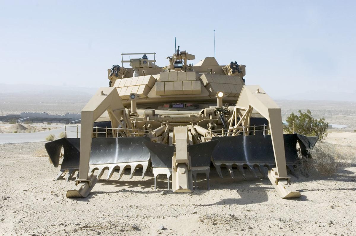 U.S. Army Assault Breacher Vehicle
