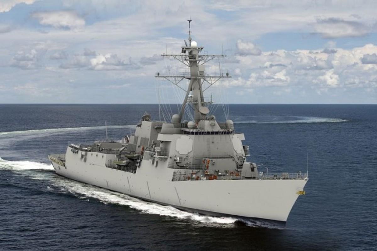 USS U.S. Navy Jack H. Lucas (DDG 125)