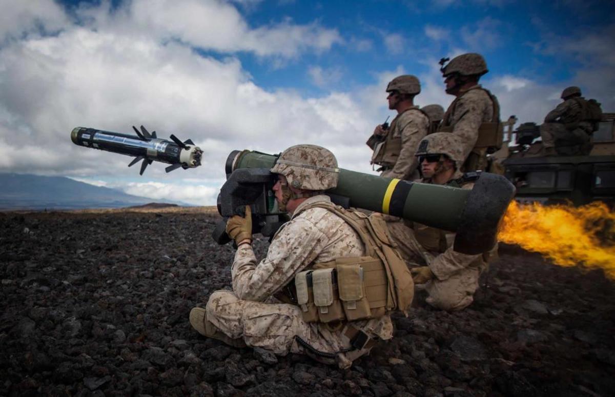 U.S. Marines Javelin