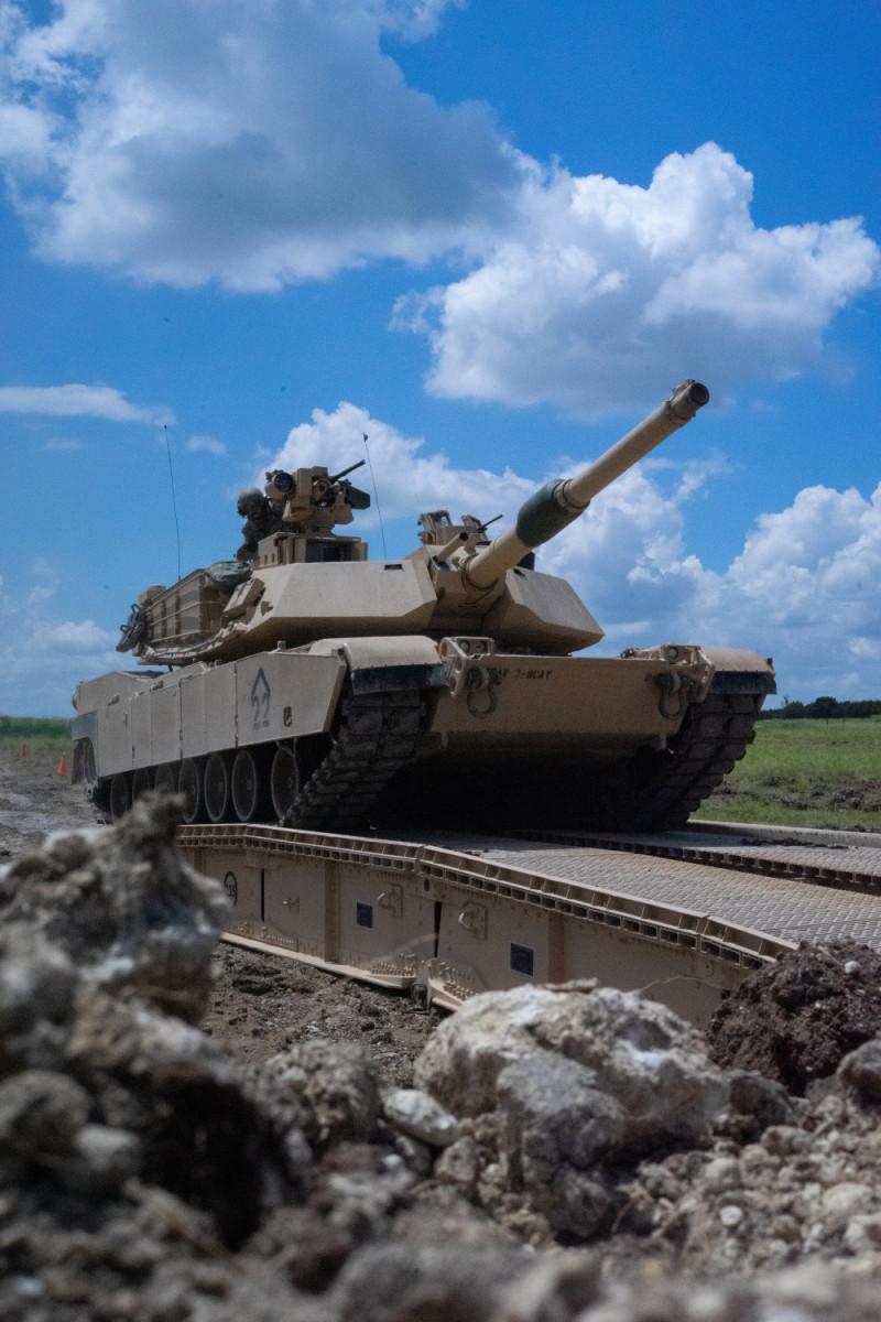 U.S. Army M1A2 SEPv3 Abrams Main Battle Tank