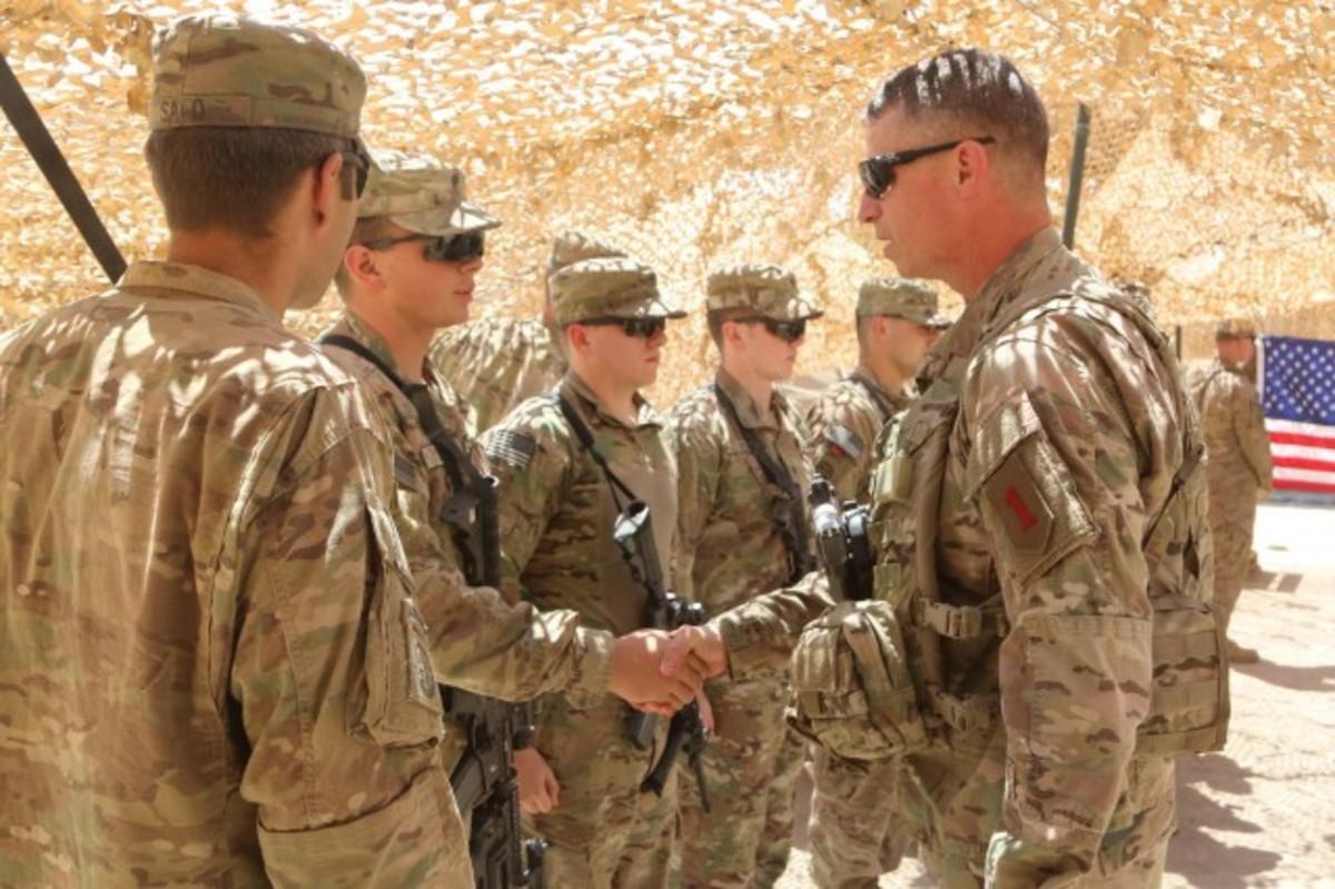 U.S. Army Major General, Joseph Martin