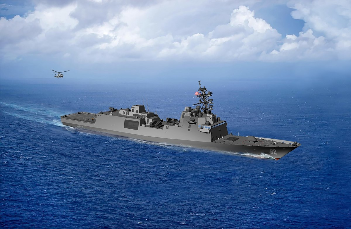 U.S. Navy Guided Missile Frigate FFG(X)