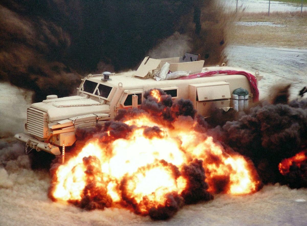 U.S. Department of Defense MRAP Mine-Resistant Ambush Protected