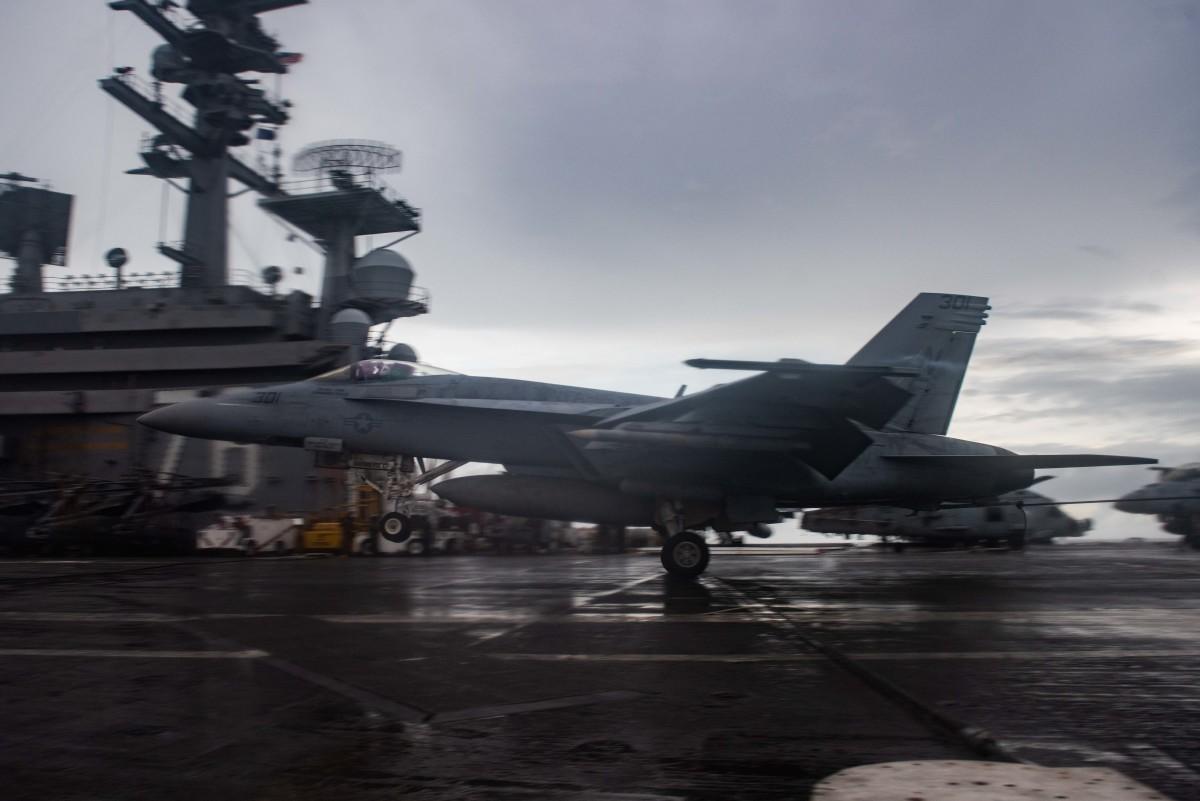 USS U.S. Navy Regan Carrier Strike Group
