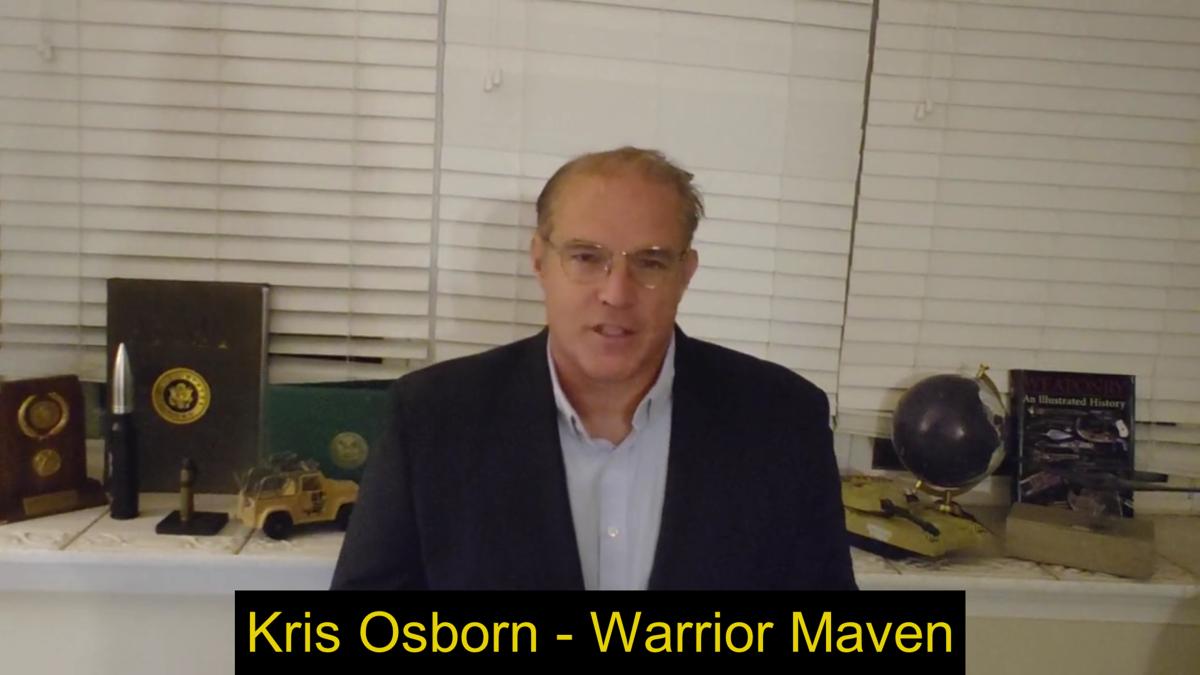 Kris Osborn, Warrior Maven President