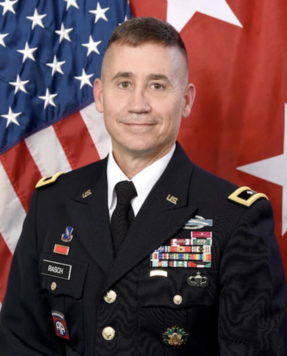 Maj. Gen. Robert Rasch