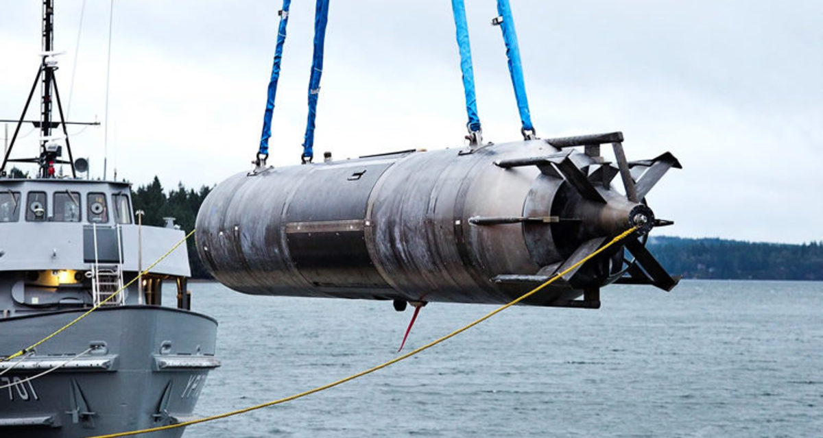 LDUUV Large Displacement Unmanned Underwater Vehicle