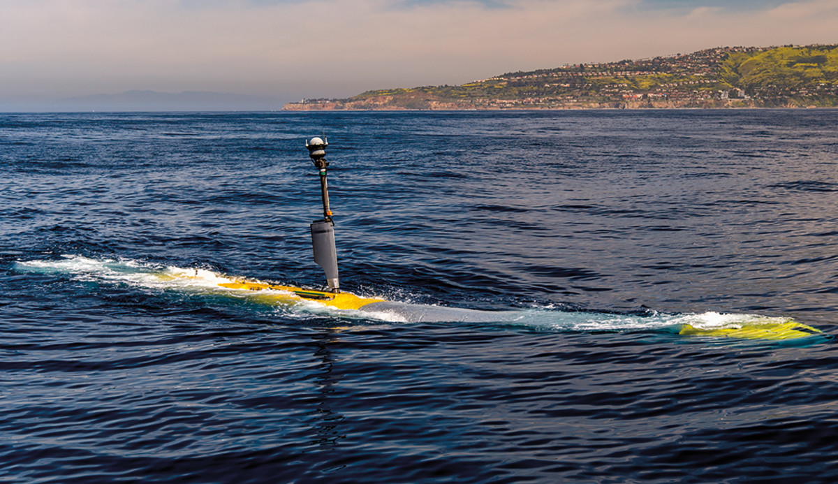 XLUUV Echo Voyager Unmanned Undersea Vehicle Drone