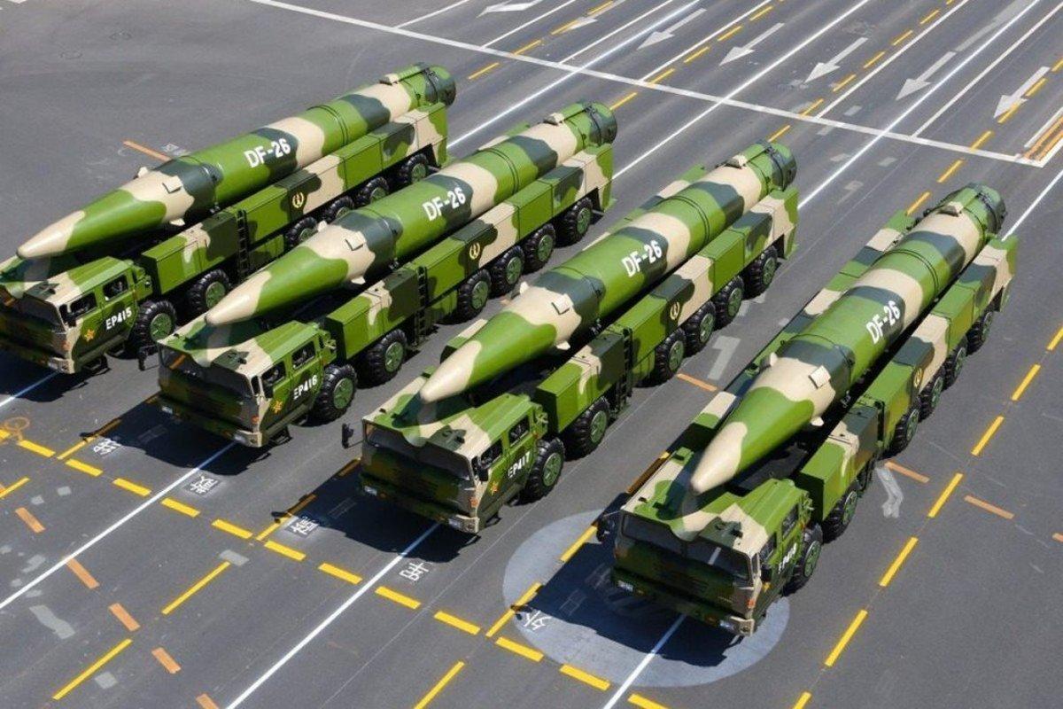 DF-26 Ballistic Missiles