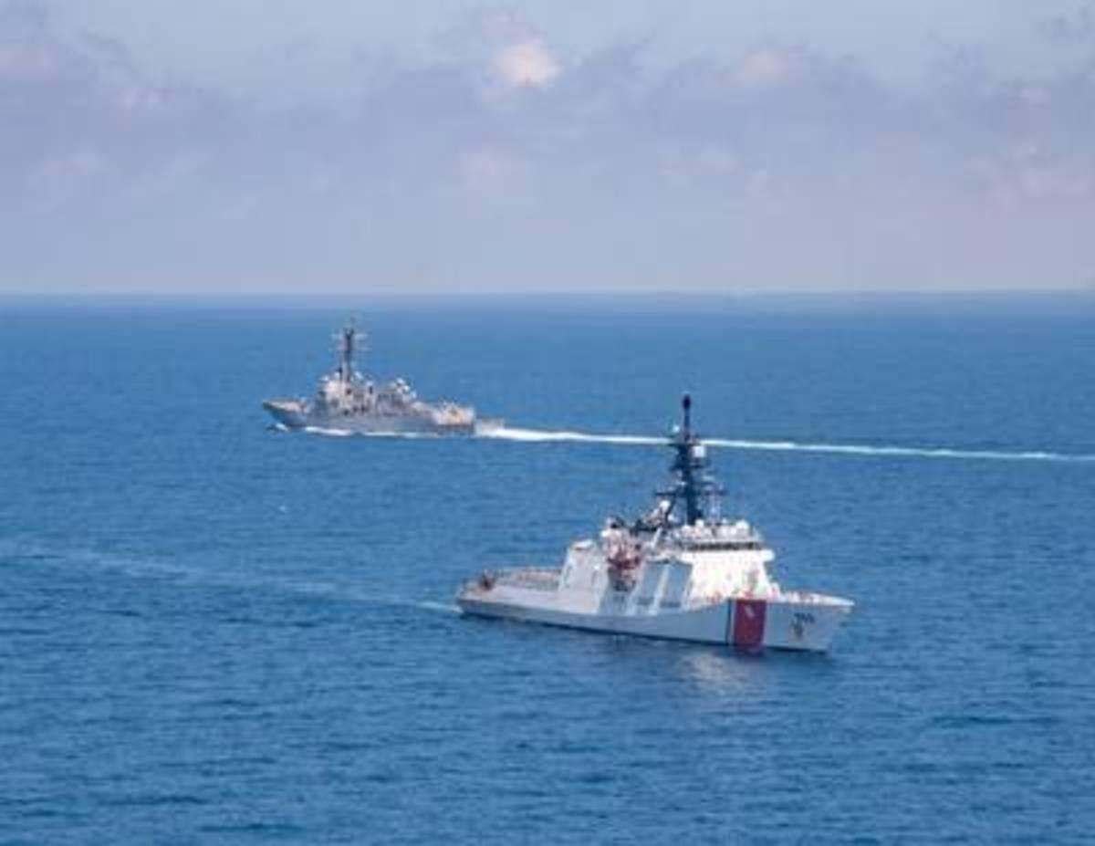 U.S. Coast Guard National Security Cutter Munro (WMSL 755)