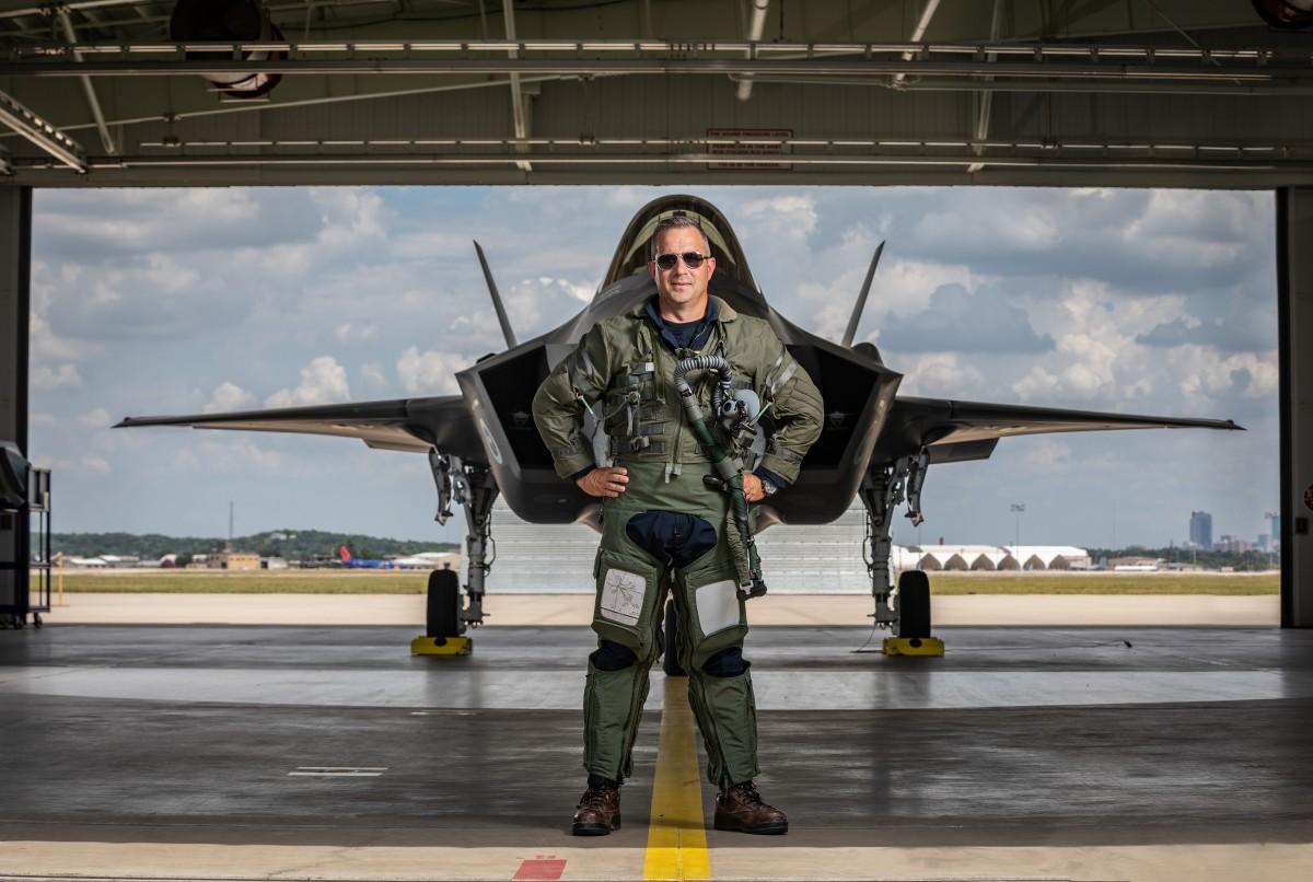 Tony (Brick) Wilson F-35A