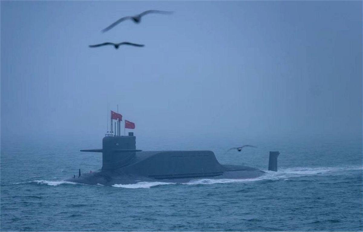 094A SSBN (nuclear powered ballistic submarine)