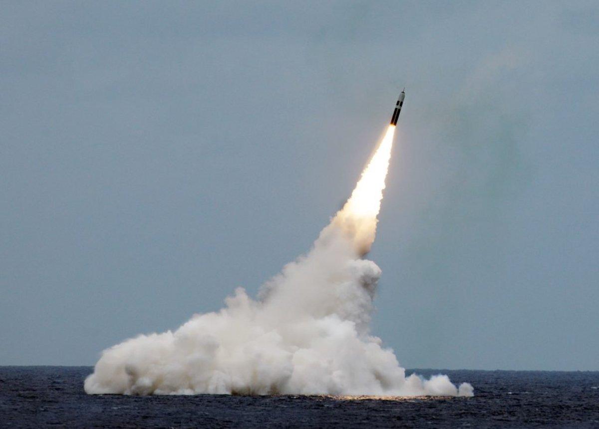 Trident-D5 Submarine ICBM