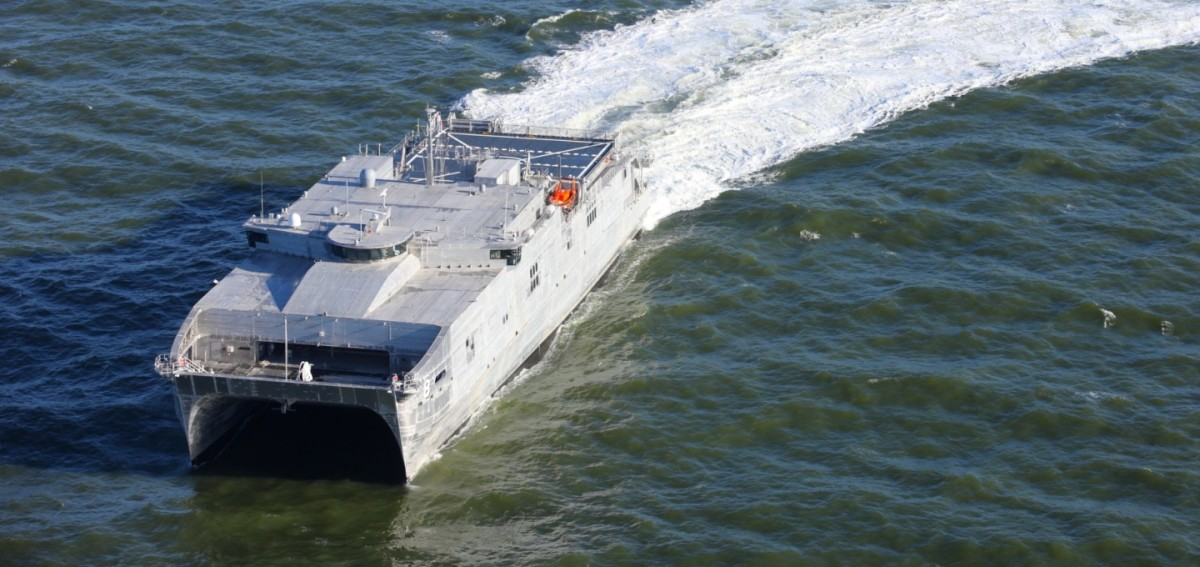 AUSTAL'S EXPEDITIONARY FAST TRANSPORT 8