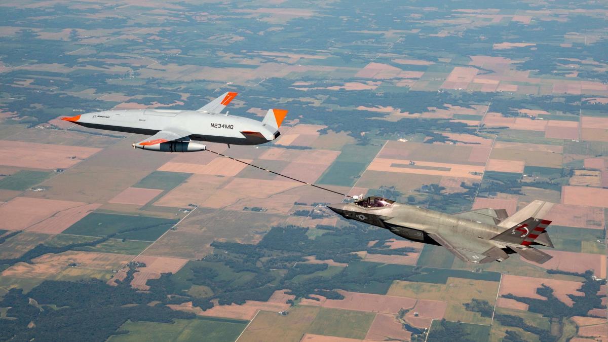 F-35 Refueling MQ-25